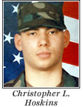 US Army Specialist Christopher L. Hoskins