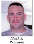US Army National Guard 2d Lieutenant Mark J. Procopio