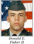 US Army Corporal Donald E. Fisher II