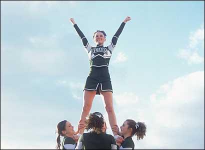 Billerica cheerleaders