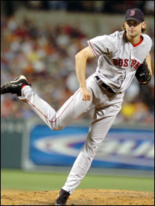 Bronson Arroyo chose to stay in Boston because he likes the team and the city.