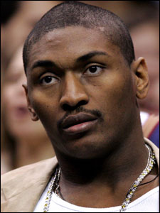 Ron Artest will return to the floor Friday in Boston with a new team, the Sacramento Kings.