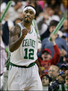 Ricky Davis is heading to Minnesota as one of seven players in a deal that brings Wally Szcerbiak to Boston.