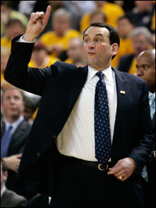 Coach K has had his share of his success in Boston.