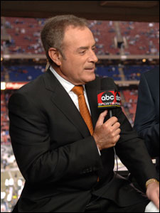 There are rumors that Al Michaels will join John Madden at NBC.