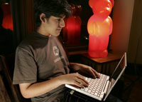 Aaron Swartz, a 19-year-old Chicago native, said he's edited ''a couple of thousand'' articles on the website.