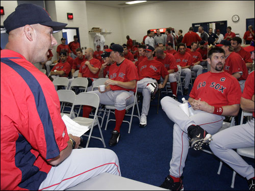 After an offseason overhaul, there are a lot of new faces in spring training for Terry Francona in Fort Myers. We'll introduce you to some of them ...