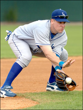 The popular third baseman signed with the Dodgers this winter.