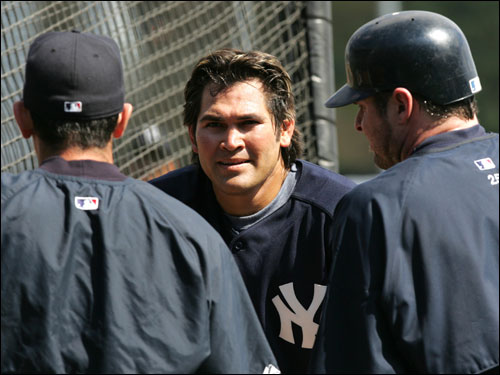 The former Sox center fielder infamously signed with the Yankees this winter.