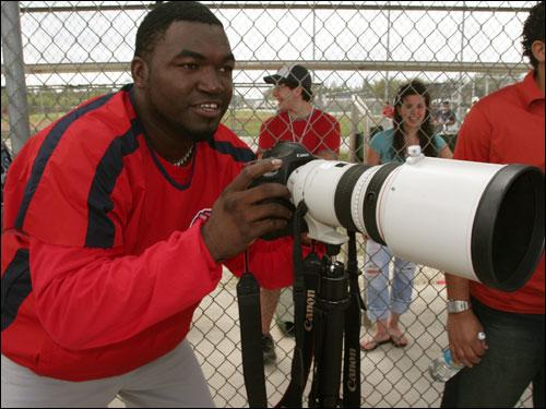 Ortiz enjoyed being behind the camera.