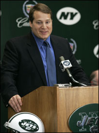 Jets' head coach and former Patriots Defensive coordinator Eric Mangini will be using a familiar formula when judging player personnel.