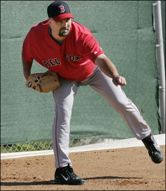 Wells threw off a mound for about eight minutes on Wednesday.