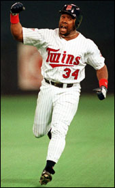 Kirby Puckett, World Series hero, dies at age 45 after suffering a stroke.