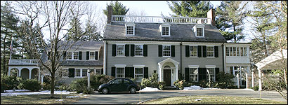 MILTON HOUSE -- Deval Patrick and his wife have owned their home in Milton's desirable Columbine section since 1989. During that period they have taken out 10 different mortgages on the house, sometimes carrying three at a time.
