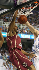 BC forward Caig Smith and his Eagle teammates should advance in the NCAA tournament against a weak bracket.