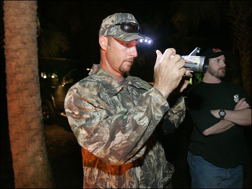 Wakefield, who has killed several hogs on various hunting trips, did a different kind of shooting to capture images of his trip.