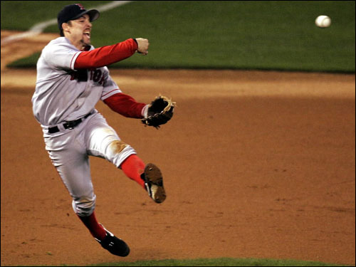 Billy Ballgame signed with the Dodgers this offseason, reuniting with former Sox mates Derek Lowe, Nomar Garciaparra, and Grady Little. Mueller supplied perhaps the turning point of the 2004 season with a walkoff two-run homer off of Mariano Rivera on July 24.