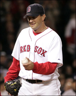 Mike Myers was another member of the 2004 World Series Champion Red Sox to defect to New York. Myers signed a two-year deal with the Yankees after the 2005 season. Myers was a solid left-handed specialist in his two years in Boston.