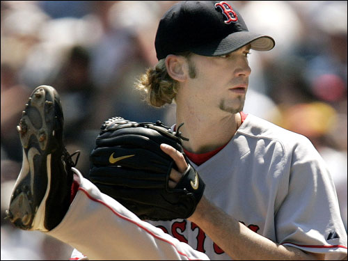 Most recently, Bronson Arroyo was traded to the Cincinnati Reds for outfielder Wily Mo Pena on Monday. Arroyo was disappointed, calling Boston his 'second home.'