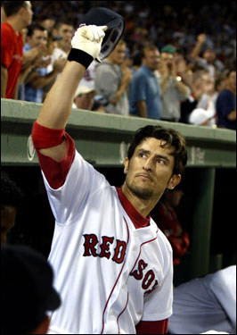 Finally, we come to Nomar. The Sox icon was traded in a 2004 midseason move that brought Cabrera and Mientkiewicz to the Red Sox. After playing with the Cubs last season, Nomar is currently manning first base for the Dodgers.