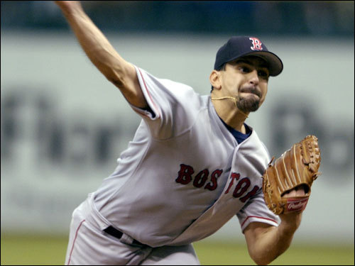 May 5, 2002 Trot Nixon flipped his bat at Rays pitcher Ryan Rupe in the second inning after Rupe hit Nomar Garciaparra and Shea Hillenbrand with pitches. Nixon claimed it was an accident, but jawed with Rupe during the incident. Red Sox starter Frank Castillo retaliated as well, hitting Randy Winn, but was not ejected. Nixon and Castillo received four- and five-game suspensions, respectively. Castillo struck out six while allowing three hits in eight innings and was the winning pitcher in the emotional 2-0 victory.