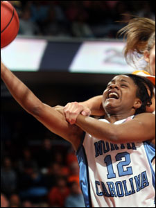 Ivory Latta is the floor general for the North Carolina women's basketball team.