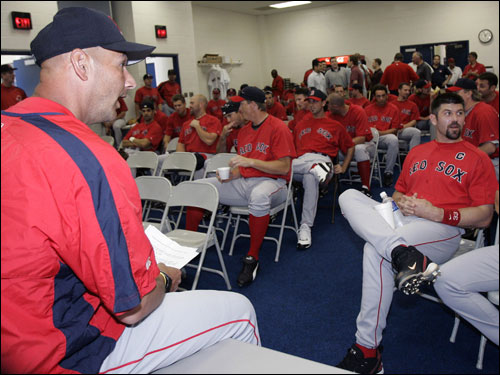 Aside from dealing with the Yankees and a revamped Blue Jays squad in an improved AL East, the Red Sox head into the 2006 season with plenty of question marks. Will this be a .500 squad or a 98-win juggernaut? A lot of that will depend on the answers to these 10 questions ...