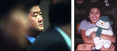 Cho Hyun Shin (left) said the April 2000 death of his daughter, Elizabeth Shin, probably was an accident.