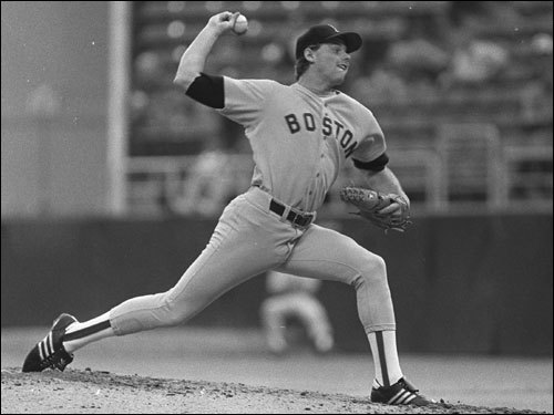 Clemens was drafted by the Red Sox in the first round (19th pick) of the 1983 amateur draft. As a rookie in 1984, Clemens recorded his first major league victory against Minnesota in his second start. Clemens struck out seven Twins batters as the Red Sox won, 5-4.