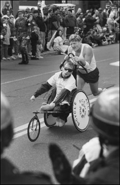 We take a look back at Boston Marathons past for Team Hoyt.
