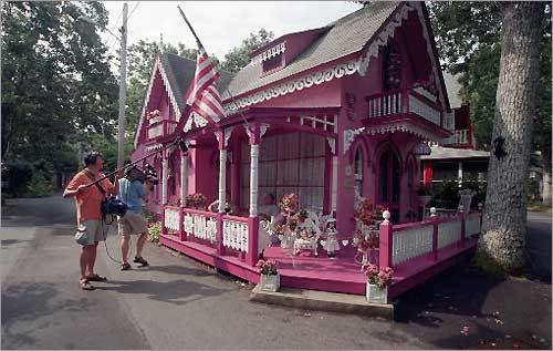 Martha's Vineyard - Oak Bluffs - Gingerbread Houses