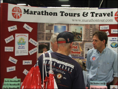 The Marathon Tours and Travel group organizes trips for runners to marathons around the world.