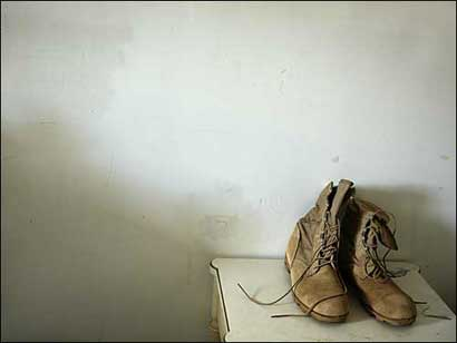 Chris Chapin's boots
