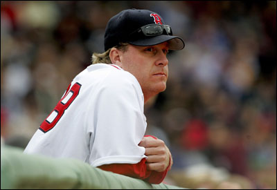 Curt Schilling can reach 5-0 if he beats Cleveland tonight; he lost to the Indians in his only time facing them as a Red Sox.