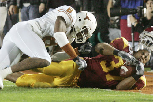 Cedric Griffin finished his senior year at Texas with 86 tackles and 15 passes batted down.