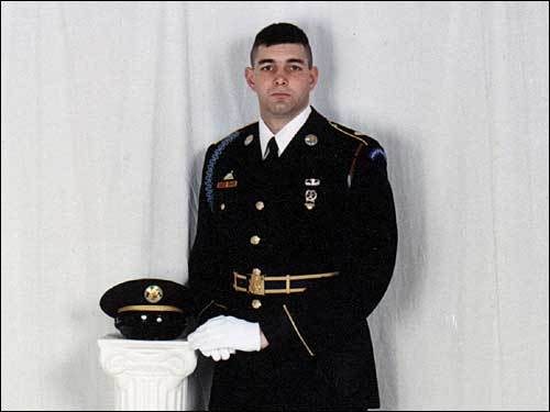 Staff Sergeant David M. Veverka, 25, Jamestown, Pa.