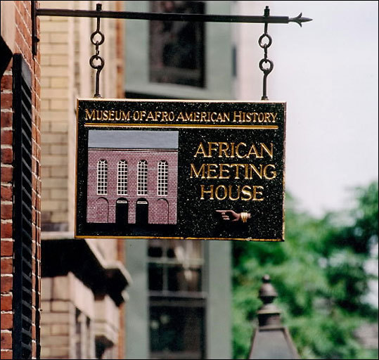 The African Meeting House, owned and operated by the Museum of Afro-American History, is one stop on the Black Heritage Trail.