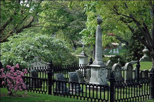 Visit the Mount Auburn Cemetery
