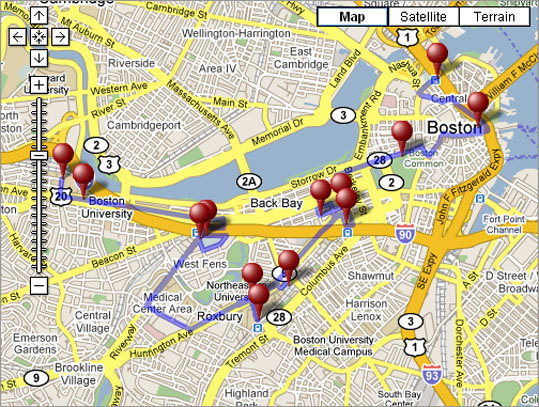 Get a different spin on the city's history, with or without a GPS. Sports lovers can take a free tour of som