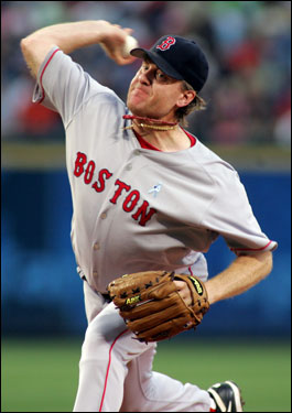 Curt Schilling gave up just two runs in six innings and left with the lead last night, but did not pick up his 10th win of the season thanks to the struggling Sox bullpen.