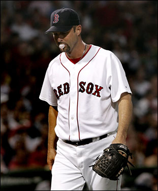 Tim Wakefield pitched six innings, allowing four hits and one earned run to pick up his fifth win of the season.
