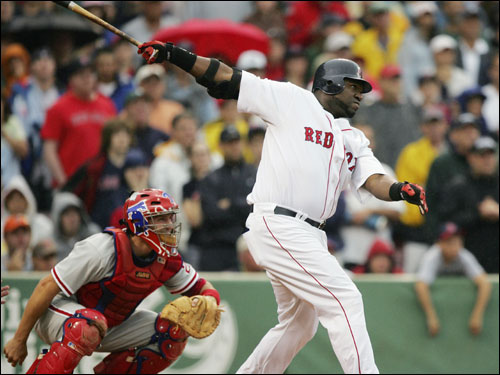 David Ortiz ended the game in the tenth inning with a two-run walkoff home run.
