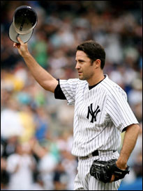 Mike Mussina is the 28th pitcher in history to reach 2,500 strikeouts.