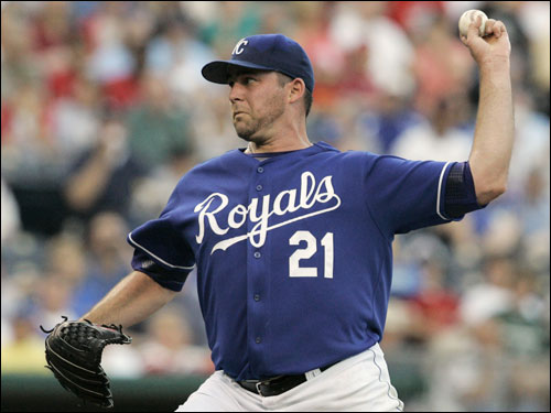 The Royals' left-hander is 5-0 with a 3.74 ERA in five June starts, as well as the only pitcher in the big leagues with five wins this month. KC holds a mutual option on Redman for 2007, but the soft-serving Redman to me is a more attractive alternative than fellow Royal Scott Elarton, who has another year on his deal.