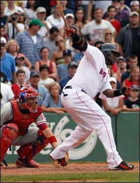June 26, 2006 Red Sox 8, Phillies 7 The Phillies made the mistake of pitching to Ortiz with men on base in the bottom of the 12th. Big Papi delivered the game-winning single into center field, his second walkoff hit in as many games.