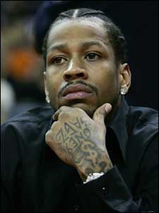 Truth be told, Philadelphia guard Allen Iverson would not be a good fit in the Celtics' lineup alongside Paul Pierce.