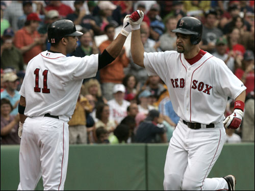 The connection between the Red Sox and the Marlins is undeniable (just ask Alex Gonzalez, left, and Mike Lowell, right). With the teams set to face off this weekend, we take a look at the links between the franchises.