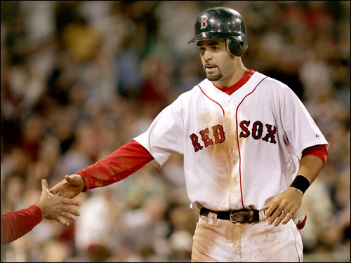 Mike Lowell was an afterthought in the Beckett deal, but has impressed this season, with a .303 batting average and 26 doubles, which is good for second in the American League. In his seven seasons with the Marlins, Lowell was a key member of the team until his offensive decline in 2005 made him expendable.