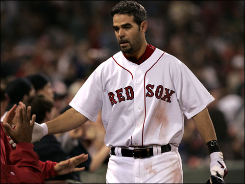 An afterthought in the Josh Beckett deal, Mike Lowell got off to a great start, erasing any worries that his abysmal 2005 campaign would repeat itself in 2006. Last season, Lowell hit just .236 with 8 home runs. This year, Lowell is back on track, hitting .307 with 11 home runs and a major league-leading 31 doubles at the break.