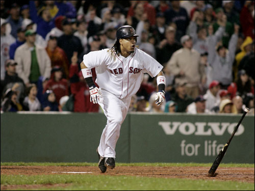 Since a slow start, Manny Ramirez has done exactly what he was expected to do this season: hit for power and average in the middle of the lineup. At the break, he is hitting .306 with 24 home runs. A summer without a Ramirez trade demand, however, is something that is not expected. The All-Star (whether he plays or not) slugger's agent Greg Genske said, 'Manny is staying in Boston for the rest of his career.'